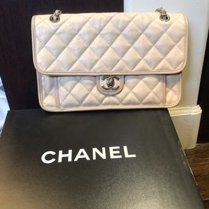 CHANEL Bags - Chanel French Riviera bag in beige color